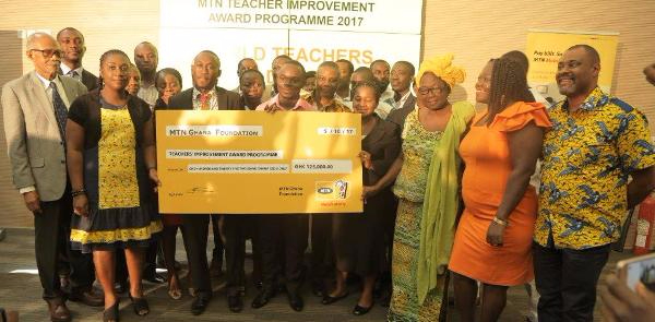MTN Foundation awards scholarship to 20 teachers