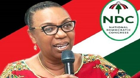 Betty's Posters Pop Up As Chairperson Aspirant For NDC