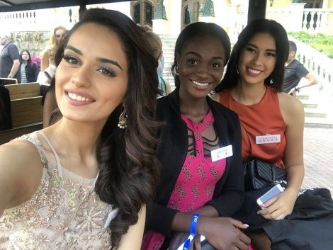 Miss Ghana 2017 In China For Miss World Crown