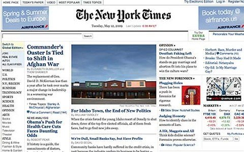 Twitter blocks New York Times by mistake