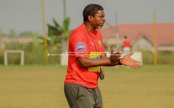 Kotoko coach Maxwell Konadu names 18-man squad for Medeama SC clash
