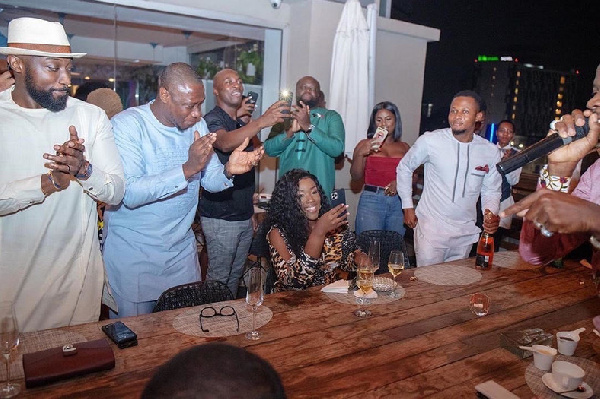 Video and photos of how Stonebwoy celebrated his wife at her birthday party