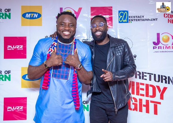 Thank you for building Ghana comedy - British got talent Kojo Anim tells DKB