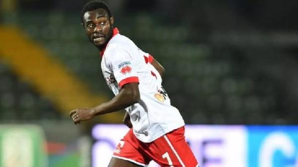 Siena midfielder Kingsley Boateng confident of victory against Albinoleffe