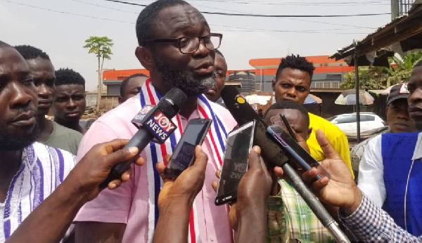 Frank Kwadwo Duodu files nomination to contest Subin primary