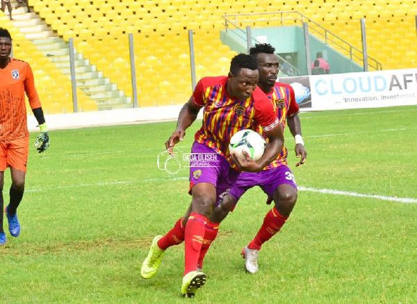 Kordzi powers Hearts past Bechem United