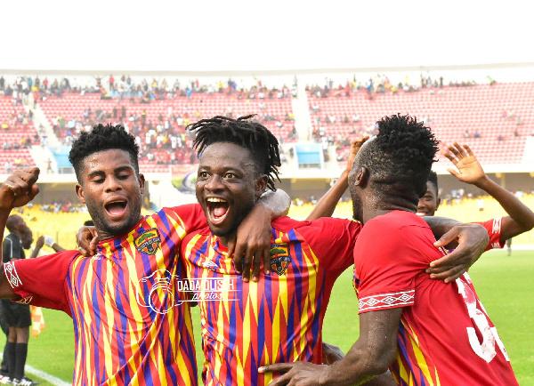 GPL Week 10: Hearts of Oak leave it late against Bechem United as Asante Kotoko draw