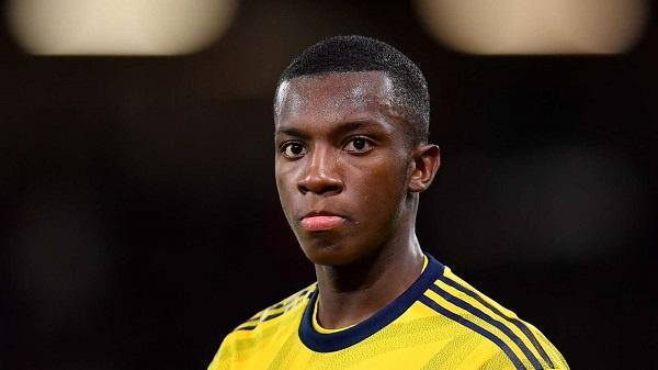 Eddie Nketiah praises 'great' Arsenal performance in victory over Newcastle United