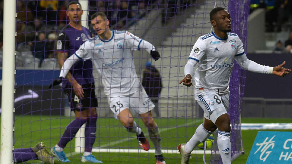 Strasbourg forward Majeed Waris pleased with draw against Lyon