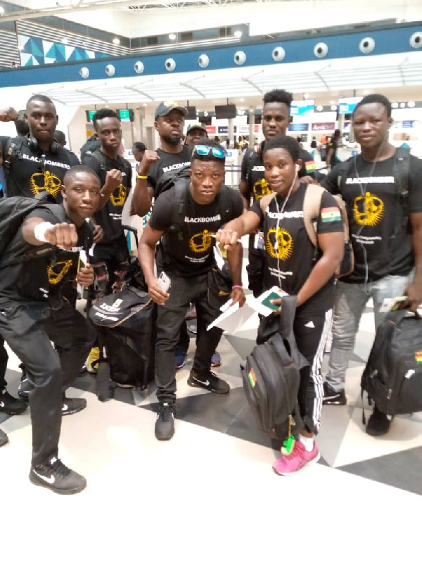 Black Bombers leave for 2020 Olympics qualifiers today