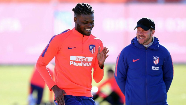 Thomas Partey to ink new Atletico Madrid contract