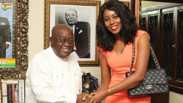 Dumsor is back! - Yvonne Nelson tells Prez Akufo-Addo