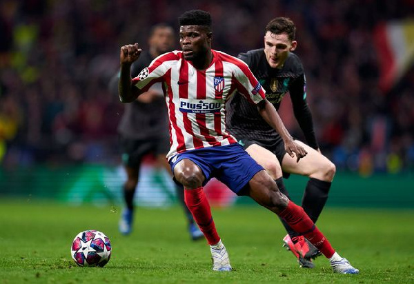 Thomas Partey opens up on how Atletico Madrid are dealing with coronavirus scare
