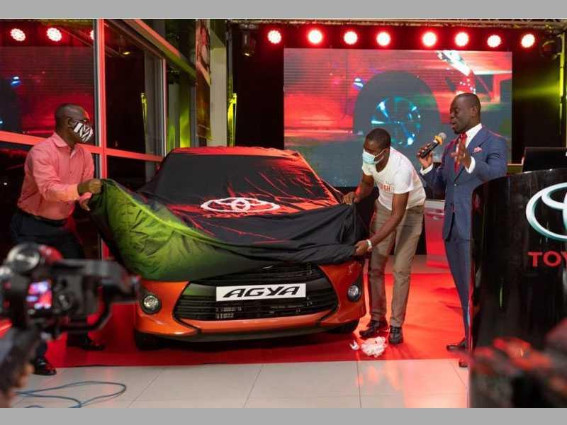 Toyota Ghana unveils new Toyota Corolla and Agya cars