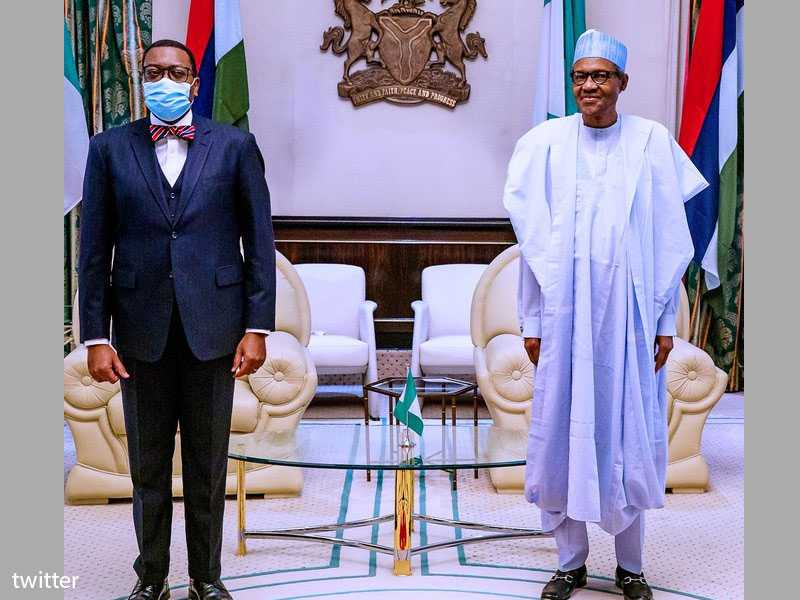 Buhari backs Nigerian banker's re-election at AfDB