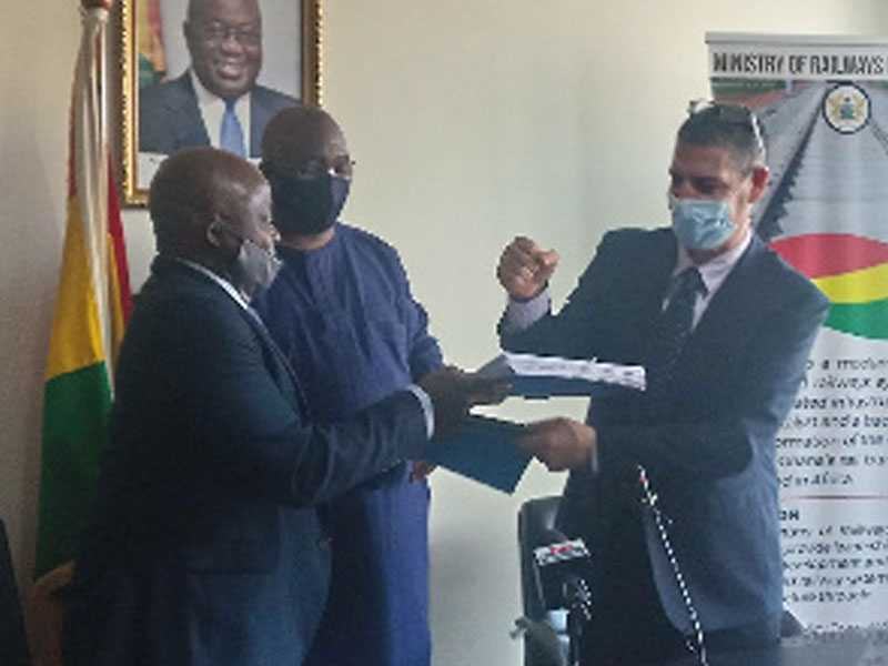 Ghana and Amandi Holdings sign $560 million railways contract