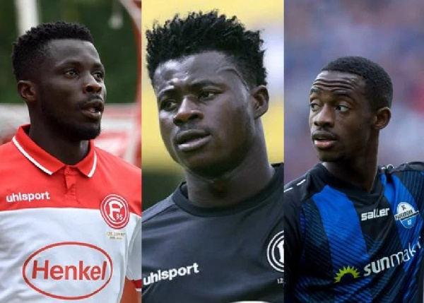 Ghanaian quintet suffer German Bundesliga relegation