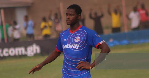 Liberty midfielder Mubarak Alhassan emerges on Granada's radar