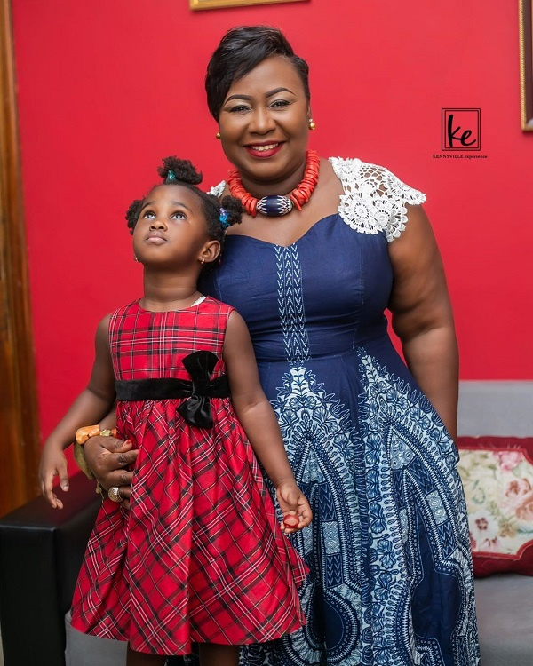 Gifty Anti shares beautiful photo of her all grown up 5-year-old daughter