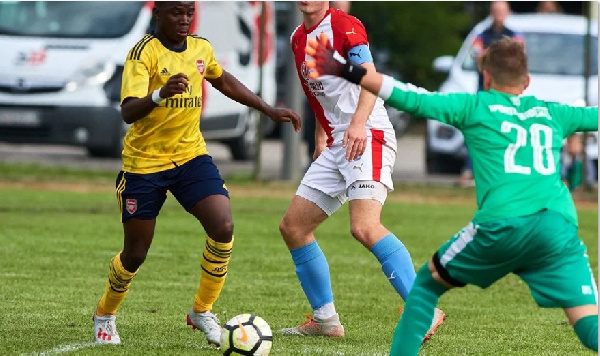 Ghana's Charles Sagoe gets promotion to the Arsenal U-18 squad