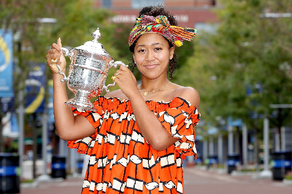 Naomi Osaka's kente headwrap endears her to Ghanaians, Africans